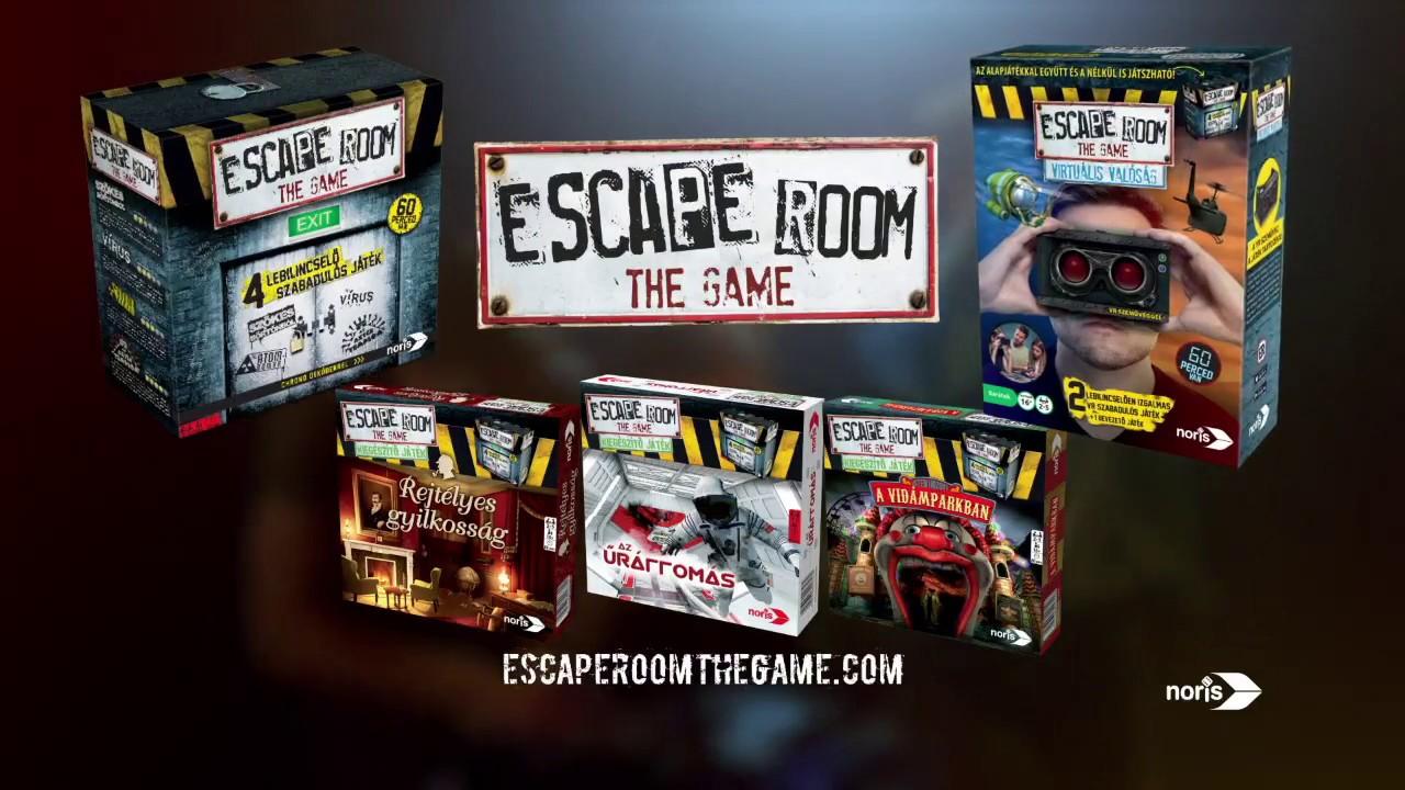Escape Room társasjátékok